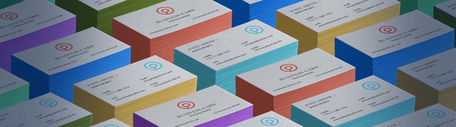 Be Proud of Your Business Cards